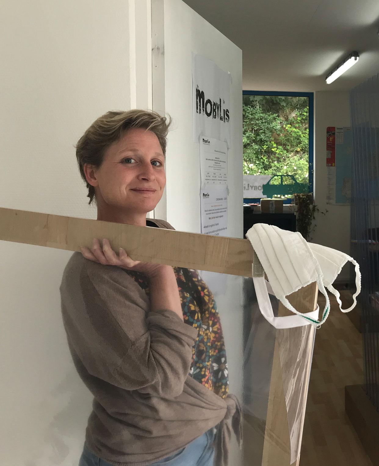 Clémentine Chanoni, directrice de Mobylis